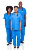 Membres du personnel soignant de groupe photo libre de droits