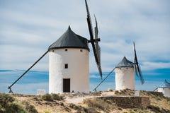 Groupe de moulins à vent Photo stock