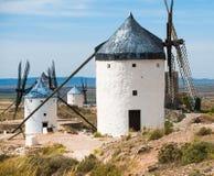 Groupe de moulins à vent Photo libre de droits