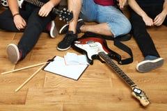 Groupe de musique Photo stock