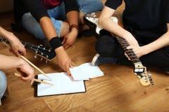 Groupe de musique Photo libre de droits