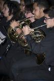 Groupe de musique du lycée Images libres de droits