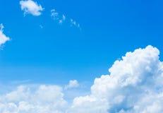Groupe de nuage Photographie stock
