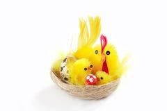 Groupe de Pâques Photos stock