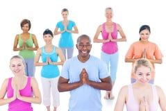 Groupe de personnes en bonne santé dans la forme physique Photographie stock libre de droits