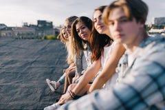 Groupe de personnes Fond heureux d'amitié photos stock