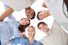 Groupe de personnes heureux Images stock