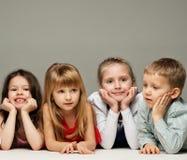 Groupe de petits enfants Photos stock