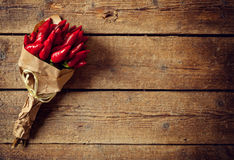 Groupe de poivre d'un rouge ardent Images stock