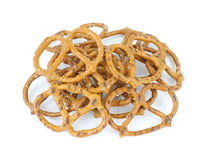 Groupe de pretzels Photo stock