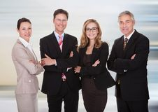 Groupe de professionnels d'affaires Images stock