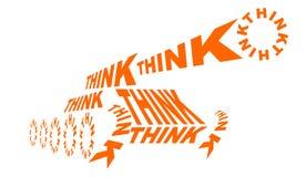 Groupe de réflexion Image libre de droits