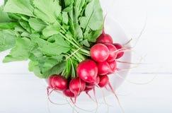 Groupe de radis de plat Photo libre de droits