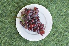 Groupe de raisins frais Photographie stock