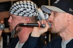 Groupe de rap norvégien Gatas Parlament Photo libre de droits