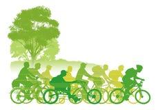 Groupe de recyclage Image libre de droits