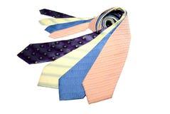 Groupe de relations étroites colorées Images stock