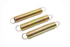Groupe de ressorts en métal avec des boucles Image libre de droits