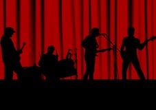 Groupe de rock Photos stock