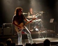 Groupe de rock américain Jason de roche/pays et le roussissement Images stock