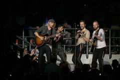 Groupe de rock britannique Coldplay Image stock