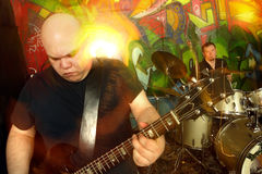 Groupe de rock lourd 3 Photos libres de droits
