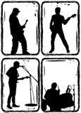 Groupe de rock, partie Photos stock