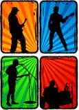 Groupe de rock, partie Photo stock