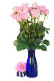 Groupe de roses roses fraîches images libres de droits