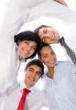 Groupe de sourire Photographie stock libre de droits