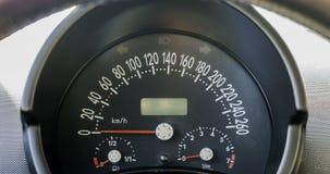 Groupe de tableau de bord de voiture ou panneau des instruments photo stock