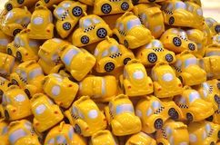 Groupe de taxi de jouet Photo stock