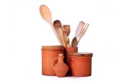 Groupe de terre cuite Image stock