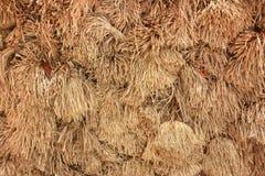 Groupe de texture sèche de paille Image libre de droits