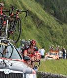 Groupe de Tour de France de le Photo libre de droits