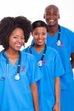 Ruban rouge médical Images libres de droits