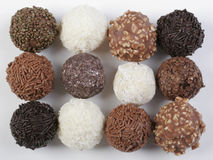 Groupe de truffes Photos stock