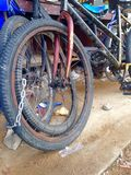 groupe de vélos Photo libre de droits