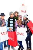 Groupe de vente Image libre de droits