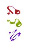 Groupe de vernis à ongles Photographie stock libre de droits