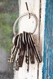 Groupe de vieilles clés image stock