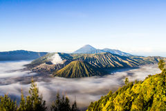 Groupe de volcans Image stock