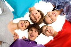 Groupe des jeunes Images stock