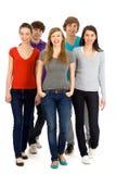 Groupe des jeunes Photo stock