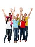 Groupe des jeunes Image libre de droits