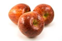 Groupe des pommes rouges photos libres de droits