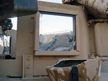 Groupe des USA Humvee avec un repère de remboursement in fine Photo libre de droits