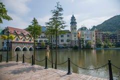 Groupe est F d'hôtel d'Interlaken de vallée de courant de thé de Shenzhen Meisha d'OCT. Photographie stock libre de droits
