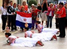 Groupe folklorique de Paraquay, Malaga en Espagne Photos stock