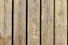 Groupe âgé de texture en bois de plage macro avec le sable Images libres de droits